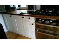 Cream Kitchen Doors with handles... ad is for doors only