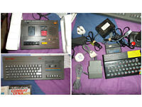 Spectrum +2 with games etc
