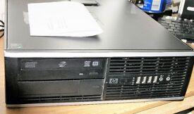 HP 6005 SFF 4GB Ram, 250GB Hard Drive, Windows 10 Professional 64 bit