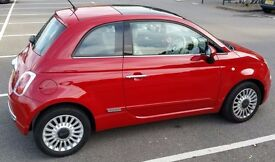 Fiat 500 Lounge, 2012, manual, petrol, 69bhp, 11k miles only!