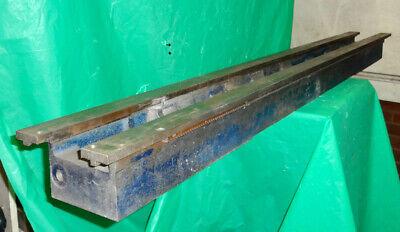 Atlas Craftsman 10 12 Lathe 54 Bed With Rack. Part 954b