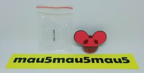 Deadmau5 Enamel Pin Numbered to 100 Pomegranate RARE Red Limited Edition #99