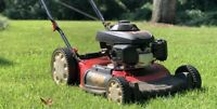 Iso: lawn mower