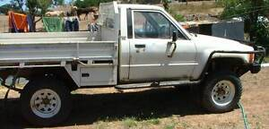 1985 Toyota Hilux Ute Central Goldfields Preview