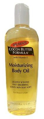 Cocoa Butter Moisturizing Body Oil (Palmers Palmer's Cocoa Butter Formula Moisturising Body Oil 250ml  SHIPPING FREE)