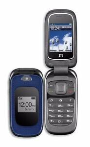 THE CELL SHOP has Newly Factory Refurbished ZTE Z222 Flip Phones Unlocked to most providers