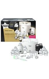 Tommee tippee essentials starter set.