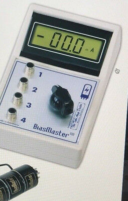 Bias Master System Bm2 Tad With 2 Octal Sockets - Bias Measuring Meter
