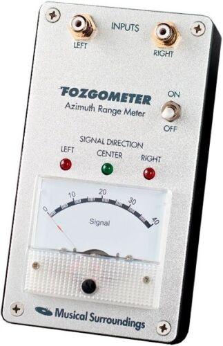 Fozgometer Fosgometer Turntable Cartridge Azimuth Range Meter by Jim Fosgate