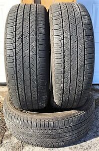 3 pneus Michelin 235/65/18 à vendre