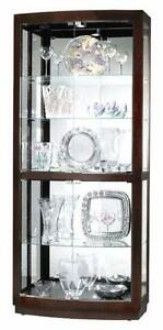 Glass Curio Cabinet Ebay