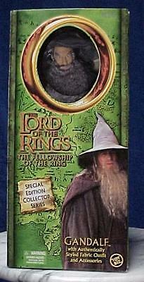 Gandalf The Lord Of The Rings 12 Inch Figure Lotr Toybiz Hobbit