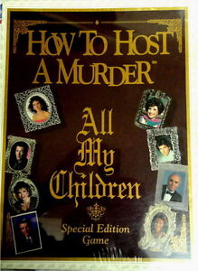 How to Host a Murder All My Children Edition Sealed