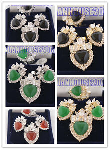 Set-18K-GP-Jade-Earring-Pendant-Ring
