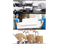 Removal man with Luton/van 24/7 URGENT & SHORT NOTICE OF 1 HOUR SERVICE HOUSE OFFICE REMOVAL