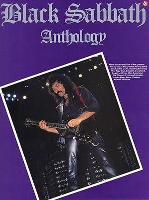 BLACK SABBATH TONY IOMMI GUITAR TAB ANTHOLOGY BOOK (Black Sabbath Anthology Guitar Tab)