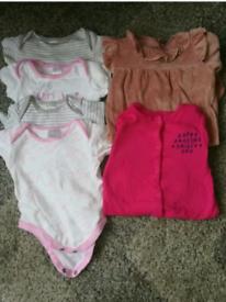 Baby Grows, Vest bundle size 3-6months