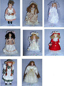 9 Genuine Porcelain Dolls : Clean,SmokeFree : As Shown Cambridge Kitchener Area image 8