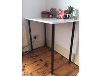 White Wood Desk