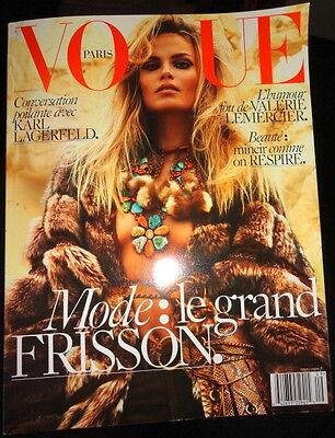 Vogue Paris 9/2015 Natasha Poly Lily Aldridge Andy Warhol Karl Lagerfeld France