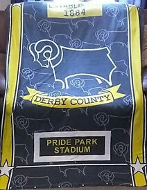 Vintage derby county bed cover