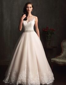 Champagne Ivory wedding dress, part of the Allure 'romantic' collection