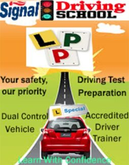 Signal Driving School (SPECIAL!!First 3 lessons, Auto and Manual) Brisbane City Brisbane North West Preview