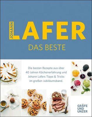 JOHANN LAFER Johann Lafer - Das Beste KOCHBUCH GU *NEU & KEIN PORTO*