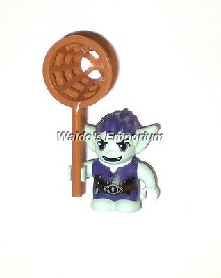 Lego Elves MiniFigure New Yellow with Orange Hair 41185 BIEBLIN the Goblin
