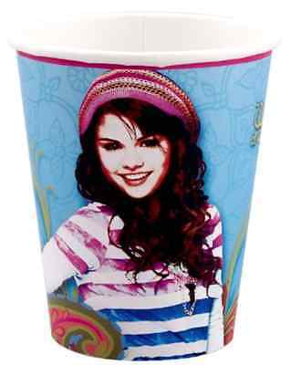 Selena Gomez Halloween (HALLMARK WIZARDS OF WAVERLY PLACE SELENA GOMEZ BIRTHDAY PARTY DRINK CUPS 8)