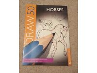 DRAW 50 HORSES - NEW - KINGFISHER/LEE J AMES - PAPERBACK