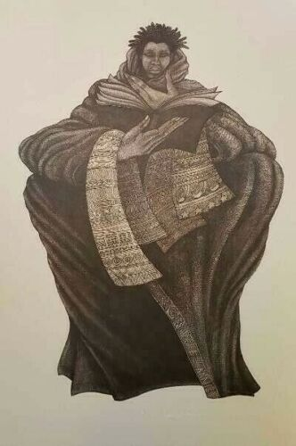 """Charles Bibbs """" ENLIGHTMENT """" 1996 Limited Edition Lithograph (Sold Out)"""