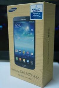 Samsung Galaxy Mega 8GB Black or White-UNLOCKED - EXCLUSIVE! Guaranteed Activation + No Blacklist