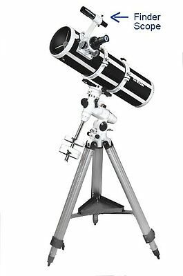 Newtonian Telescope and Traditional Finder.