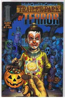 TRAILER PARK OF TERROR #1, VF+, Zombies, Halloween Special, Horror, Movie