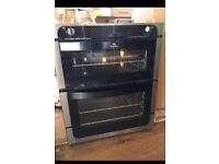 Newworld double oven. Gas