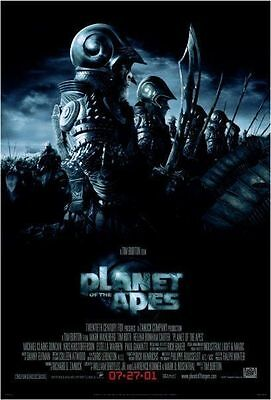 Planet of the Apes Original D/S One Sheet Rolled Movie Poster 27x40 NEW 2001