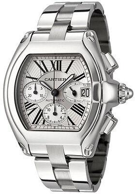 W62019X6 | Cartier Roadster XL | New & Authentic XL Steel Men's Automatic Watch
