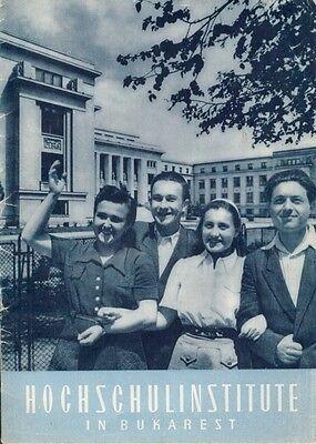 Institut für Kulturbeziehungen Rumänien Hochschulinstitute in Bukarest 1953