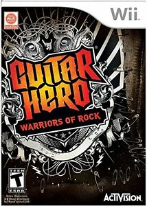 Wii Guitar Hero: Warriors of Rock  Game only or bundle