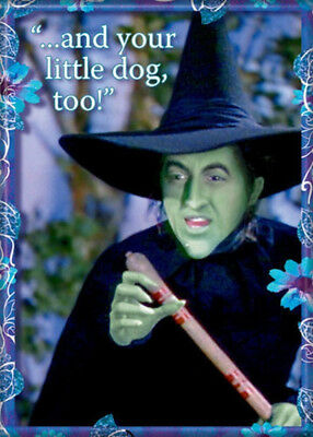 The Wizard of Oz Wicked Witch and Little Dog Too! Photo Refrigerator Magnet NEW](Wizard Of Oz Dogs)
