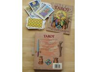 TAROT CARD DECK & BOOK by Kathleen McCormack New Unused £4 in original box