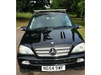 Mercedes ML 270 CDI Special Edition, 12 Months MOT, Service history