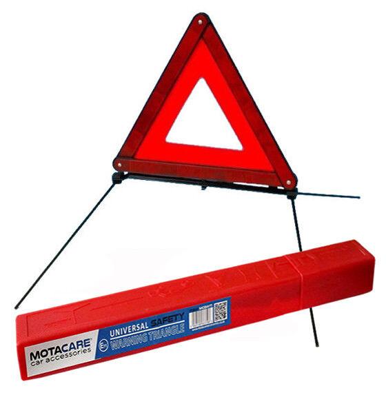 EMERGENCY WARNING TRIANGLE CAR BREAKDOWN ROAD HAZARD SAFETY FOLDABLE EU STANDARD