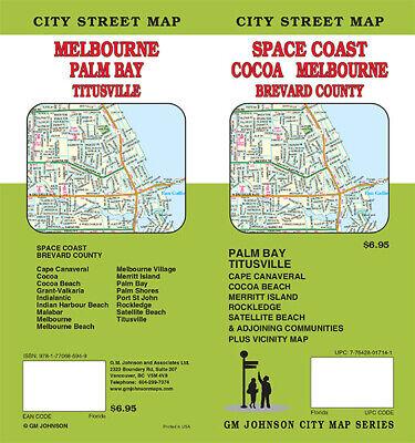 AAA SPACE COAST COCOA MELBOURNE FLORIDA FL Travel RoadMap Vacation 2019