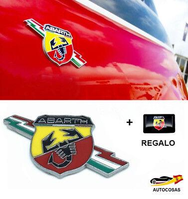 3D Emblema Abarth Metal Pegatina para Fiat + Regalo