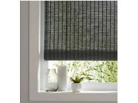 3x New B&Q Colours JAVA Bamboo roller blinds