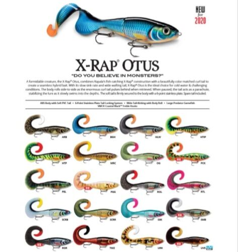 Rapala X-Rap Otus // XROU17 // 17cm 40g Fishing Lures (Choice of Colors)