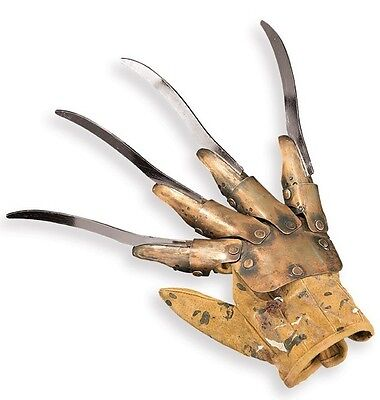Deluxe Freddy Krueger Replica Glove Nightmare on Elm St -- Real Metal Blades -- - Costumes Man