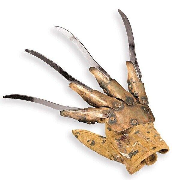 Deluxe Freddy Krueger Replica Glove Nightmare on Elm St - Real Metal Blades -